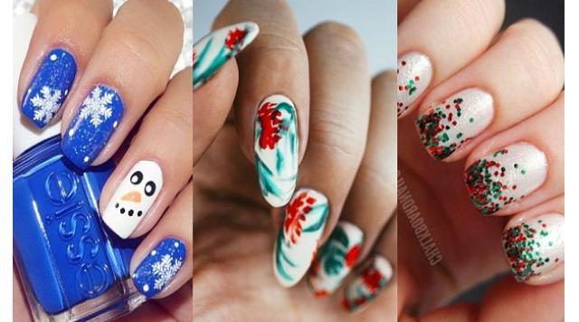 Amazingly Festive Christmas Nail Art