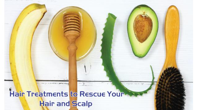 Hair Treatments to Rescue Your Hair and Scalp